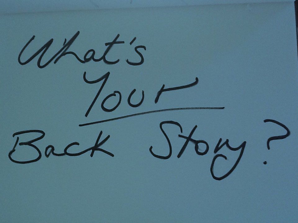 What's Your Backstory?
